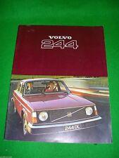 Volvo 244 1976-77 UK Market Sales Brochure DL GL 200 Series Excellent Condition