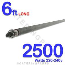 """He7225 72 """" / 6 piedi lungo 2500 Watt 2,5 kw riscaldamento elementi 8mm diametro DR Rod tipo"""