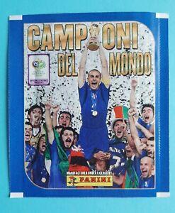 1X PACKET PANINI WORLD CUP 2006 CAMPIONI DEL MONDO ITALY POCHETTE SAQUETA PACK