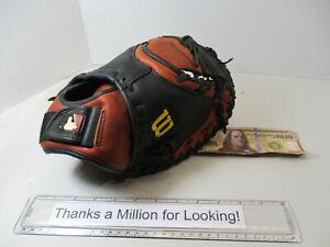 """Wilson A500 Advantage Baseball Catchers Glove, Mitt, ACM325, A0500, 32-1/2"""", EC"""