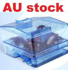 AU Stock 3Door Pest Control Tool Cockroach Trap Container Collect Killer Catcher