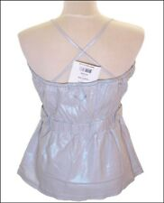 BNWT WOMEN'S OAKLEY LINEN SQUEEZE TANK STRAPPY TOP BLOUSE SMALL UK10 NEW