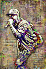 MIKE SHINODA of LINKIN PARK 20x30in Poster, Linkin Park Art Free Shipping US