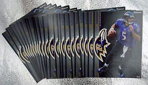 "Joe Flacco 10 Fathead Baltimore Ravens NFL 7"" Decal Tradables 🎁FREE SHIPPING🎁"