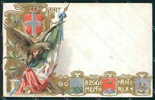 Militari 60º Reggimento Fanteria cartolina XF0160