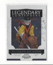 2010-11 Playoff Contenders Legendary Contenders #5 Richard Brodeur Canucks