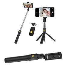 Wireless Bluetooth Selfie Stick With Tripod Stand Remote Control For IOS Android