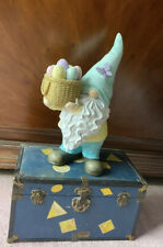 New Easter Gnome With Egg Basket Happy Easter Butterfly Pastel Colors