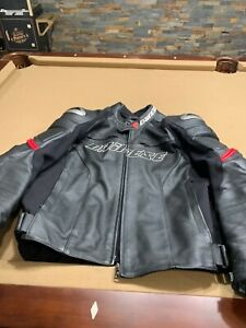 mens dainese leather jacket