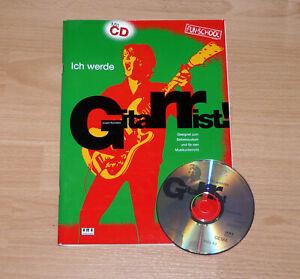 Gitarrenbuch, Lehrbuch - Ich werde Gitarrist, inkl. CD - sehr gut!