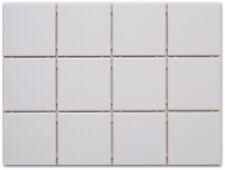 Küchenfliesen auf Netz normal weiß/ matt 10x10 passend zu Dekoren