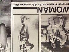 m9-9m ephemera 1970/s film article lynda carter wonder woman