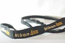 Nikon 4000 black Classic Camera Shoulder strap metal buclke for FM2N FE2 FA DSLR