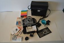 Vintage Polaroid Land Camera Automatic 100 Plus Accessories Case Photography
