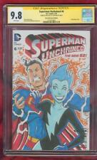 Superman 6 CGC SS 9.8 Original art Adventures 5 1st Livewire Homage Sketch