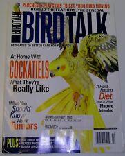 **BIRD TALK MAGAZINE Oct 05 Cockatiels Best Talking Parrots Senegal Avian Tumors