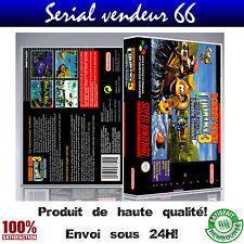 """Boitier, boite """"Donkey Kong Country 3"""", super nintendo, visuel PAL français."""