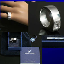 SWAROVSKI Ladies STERLING SILVER / CRYSTAL RING (8 1/2)