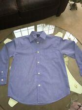 Boys 10 GAP BLUE dress Shirt