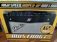 Fender Model Mustang I V.2 20W 1x8 Guitar Combo Amp Black with Usb Connectivity
