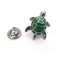 Green Turtle LAPEL PIN BADGE Lover Owner Breeder Christmas Birthday Present