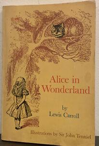 Alice In Wonderland by Lewis Carroll Sir John Tenniel 1974 Paperback Scholastic