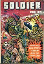 Soldier Comics #6-1952 gd/vg 3.0 Fawcett / 3 war comic stories ++ more