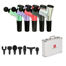 Hi5 Nova - 1 Dispositivo de masaje de vibración de percusión de tejido profundo Masajeador Con 7 cabezas