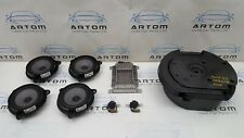 2007 NISSAN MURANO COMPLETE SPEAKER SUBWOOFER BOSE SET WITH AMPLIFIER 28060CB00D