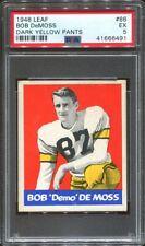 1948 Leaf #86 Bob DeMoss PSA 5 New York Giants