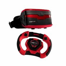 VR Real Feel Virtual Reality Car Racing Gaming System with Bluetooth Stee... New