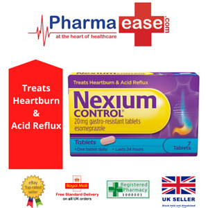 Nexium Control 20mg - Tablets - 24 Hour Relief from heartburn & acid reflux