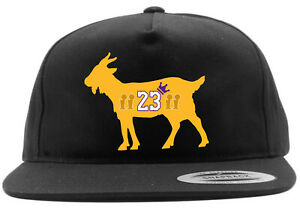 Los Angeles Lakers Lebron James Goat 4x Champion Snapback Hat