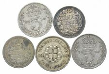 SILVER Collection Great Britain/Australian/New Zealand/Canada World Coin *460