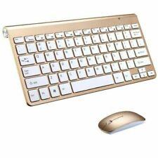 Wireless Keyboard Ultra Slim & Mouse for Apple Mac Laptop PC Surface Pro W USB-A