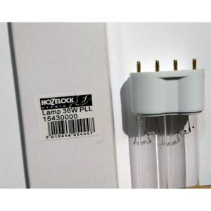 Hozelock 1543 UV Clarifier Replacement Bulb 36 Watt PLL *GENUINE HOZELOCK PART*