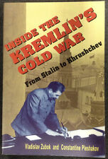 Inside the Kremlin's Cold War From Stalin Khrushchev PB Russia Russian History