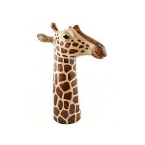 Giraffe Flower Vase By Quail Ceramic Wildlife Flower Vase