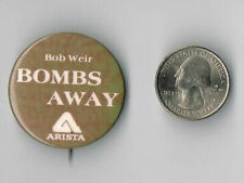 BOB WEIR Heaven Help The Fool LP Album PROMO PIN Button Badge GRATEFUL DEAD