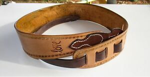 Personalized Guitar Straps Full-grain Leather Custom Made Gift. Electric, Bass,