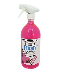 Car Air Freshener Valeting Concentrate 1L Bottle Bubblegum Scented