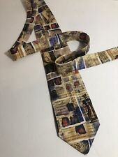 Alynn SILK Neck Tie SHAKESPEARE Literature