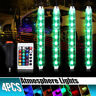 4*9 LED RGB Car Light Interior Atmosphere SUV Neon Strip Lamp Remote Control