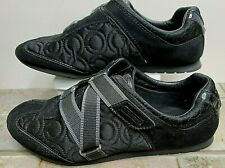 Coach Karra Women Black Suede Leather 8.5 M Wore Once