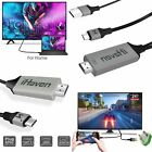 USB Type C HDMI Thunderbolt 3 Cable USBC Phone to TV for Samsung Huawei MacBook