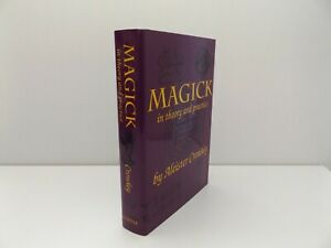 1991 MAGICK in THEORY & PRACTICE by Aleister Crowley OCCULT Witchcraft HB DJ