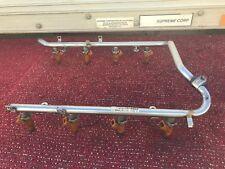 MERCEDES R230 W211 W220 W215 ENGINE INTAKE MANIFOLD FUEL RAIL INJECTOR OEM #124