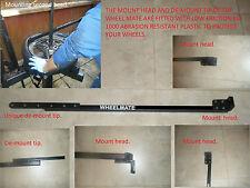 Máquina manual para Neumáticos Rueda Coche & Motocicleta Aleación Rueda Mate Barra de neumáticos no marcado