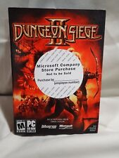 Dungeon Siege II (PC, 2005) Complete sealed game, fast shipping