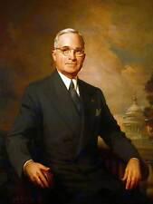 El presidente Harry Truman Pintura Retrato Kempton Impresión del Arte Cartel BB12882B